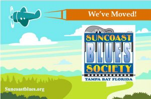 Suncoast Blues Society proudly announces its new website at Suncoastblues.org