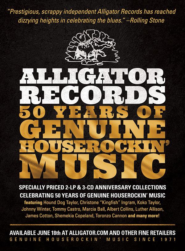 50 Years of Genuine Houserockin' Music Alligator Records – Disk 1