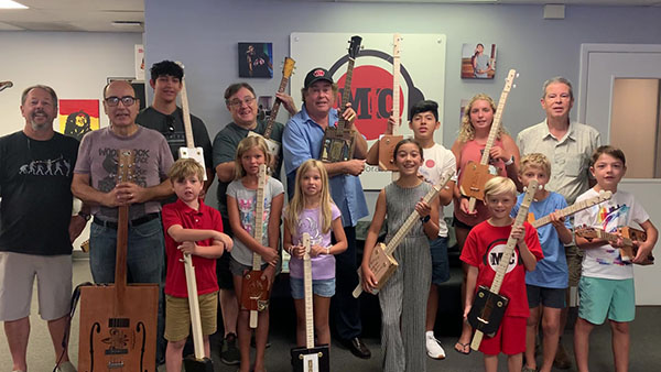 Cigar Box Guitar Workshop Music Compound, July 10, 2011